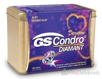 GS Condro DIAMANT darček 2019 - GS Condro Diamant 120 tabliet