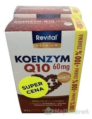 Revital KOENZÝM Q10 60 mg+VITAMÍN E + SELÉN FORTE