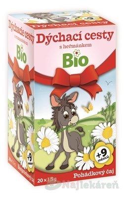 APOTHEKE ROZPRÁVKA bylinný čaj Dýchacie cesty s rumančekom Bio, 20x1,5 g
