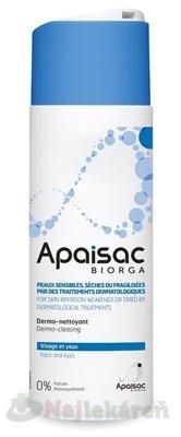 Apaisac BIORGA Čistiace pleťové mlieko - Apaisac Biorga Dermo-cleansing Milk Čistiace pleťové mlieko modrá rada 200 ml
