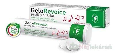 GeloRevoice - GeloRevoice pastilky do krku třešeň-mentol 20ks