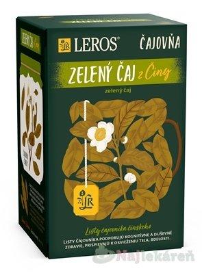 LEROS Čajovňa ZELENÝ ČAJ z Číny, 20x2 g - Leros Zelený čaj Čajovna 20 x 2 g