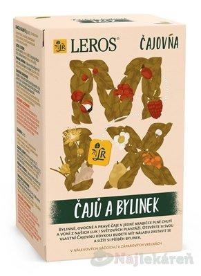 LEROS Čajovňa MIX ČAJOV A BYLINIEK - LEROS Čajovna Mix čajů a bylinek 16 x 2 g