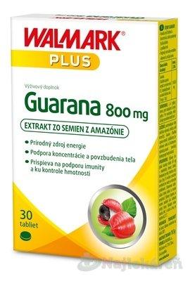 Walmark Guarana 800mg 30 tabliet