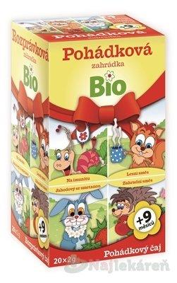 APOTHEKE bylinné a ovocné čaje Rozprávková záhradka Bio 20x2 g