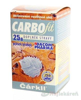 CARBOFIT Čárkll - Dacom Pharma Carbofit prášek 25 g