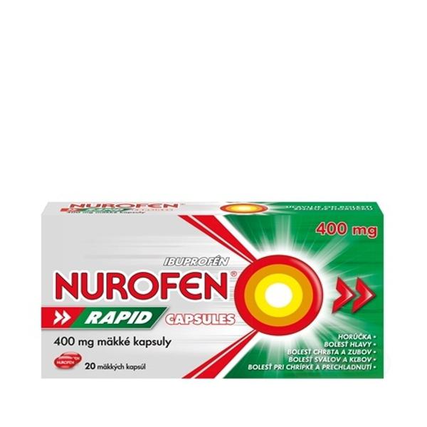 Nurofen Rapid 400mg Capsules cps.mol.20x400mg