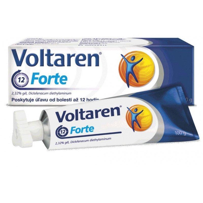 Voltaren Forte gél proti bolesti a zápalom 2,32 % 100g