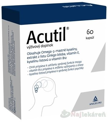 Efamol Ltd. ACUTIL, 60 cps