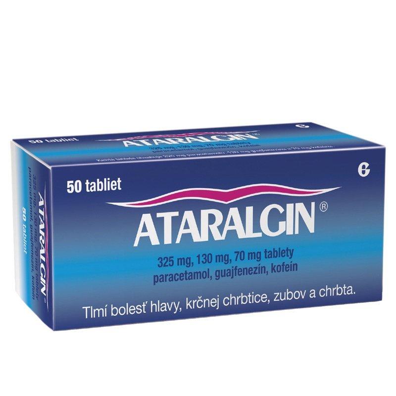 ATARALGIN proti bolesti hlavy, zubov a chrbta 50 tbl