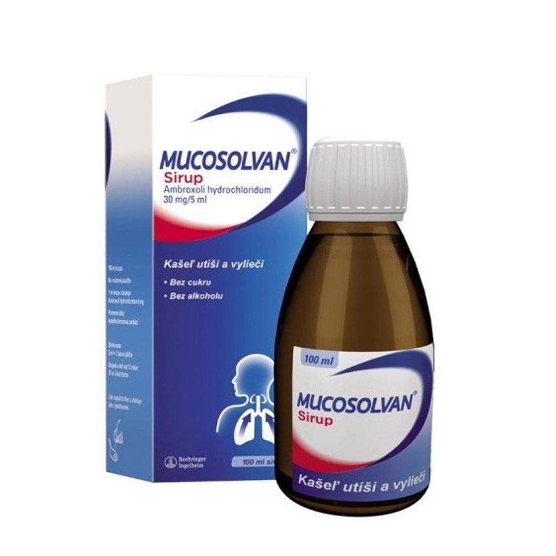 Mucosolvan sirup na kašeľ 30 mg / 5 ml, 100 ml