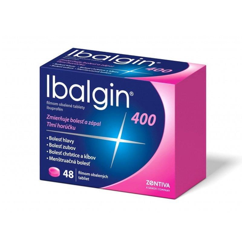 Ibalgin 400 proti bolesti, 48ks