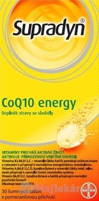Supradyn CoQ10 Energy - Supradyn CoQ10 Energy 30 šumivých tabliet