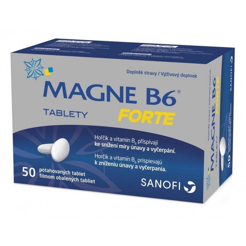 MAGNE B6 FORTE, horčík 50 tbl