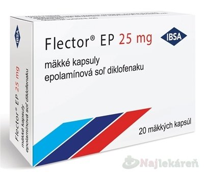 Flector EP 25 mg - Flector EP 25 mg cps.mol.20 x 25 mg