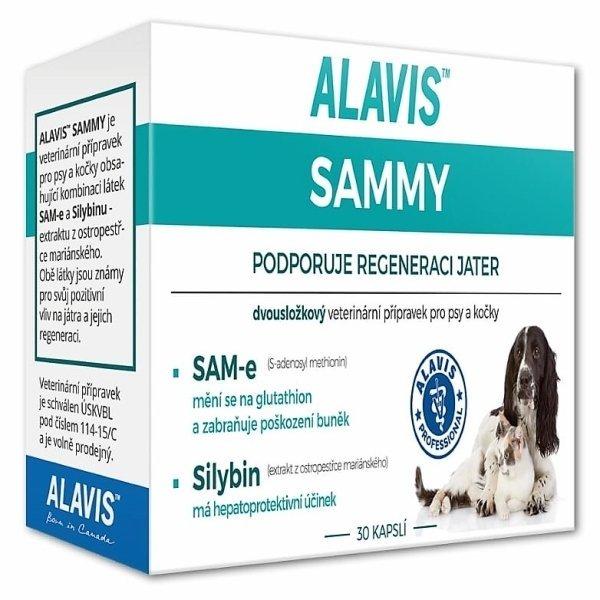 ALAVIS SAMMY pre psy a mačky 30 ks - Alavis SAMMY pro psy a kočky 30tbl