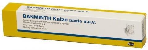 Banminth Perorálna pasta pre mačky, anthelmintikum 3 g