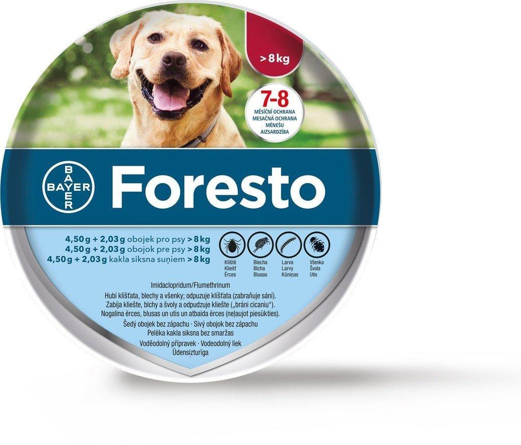 Bayer Foresto obojok pre psy nad 8 kg 70 cm