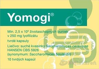 Yomogi na liečbu príznakov akútnej hnačky 250mg 10cps - Yomogi cps.dur.10 x 250mg