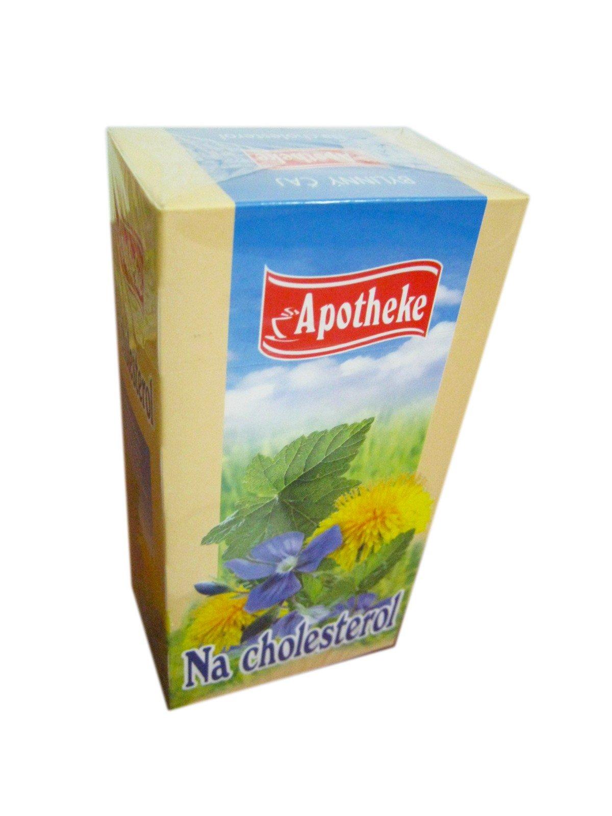 Apotheke Na cholesterol čaj 20x1,5g n.s.