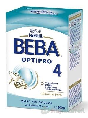 BEBA OPTIPRO 4 mliečna výživa 600 g