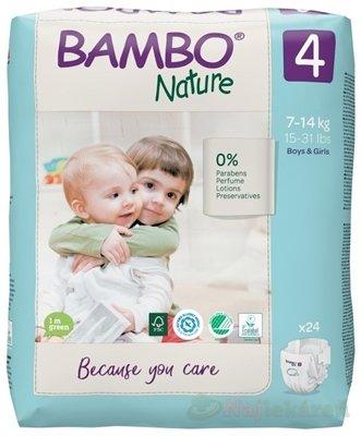 BAMBO 4 (7-14 kg) 24ks balenie