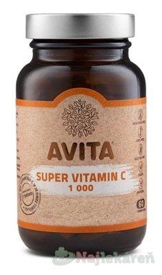 AVITA SUPER VITAMIN C 1000 mg - Avita International Super Vitamin C 60 tabliet