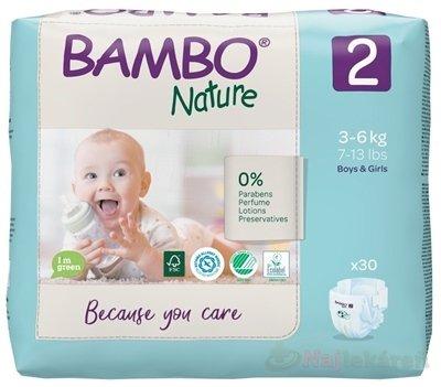 BAMBO 2 (3-6 kg) detské plienky priedušné 30 ks