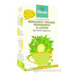 Dilmah BERGAMOT ORANGE PEPPERMINT & LEMON