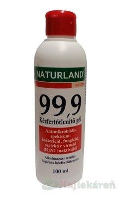 NATURLAND 99,9 Dezinfekčný gél na ruky - Naturland dezinfekčný gél na ruky 100 ml