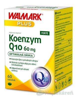 WALMARK Koenzym Q10 FORTE 60 mg - Walmark Koenzym Q10 Forte 60 mg 60 kapsúl