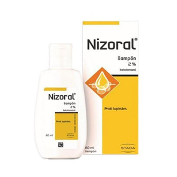Nizoral šampón 2% shp.1 x 60 ml
