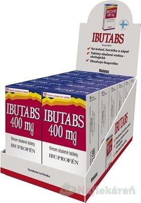 IBUTABS 400 mg DISPLEJ na bolesť, 12x30ks