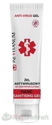 REVITANUM antivírusový dezinfekčný gél 100ml - Revitanum antivírusový dezinfekčný gél 100 ml