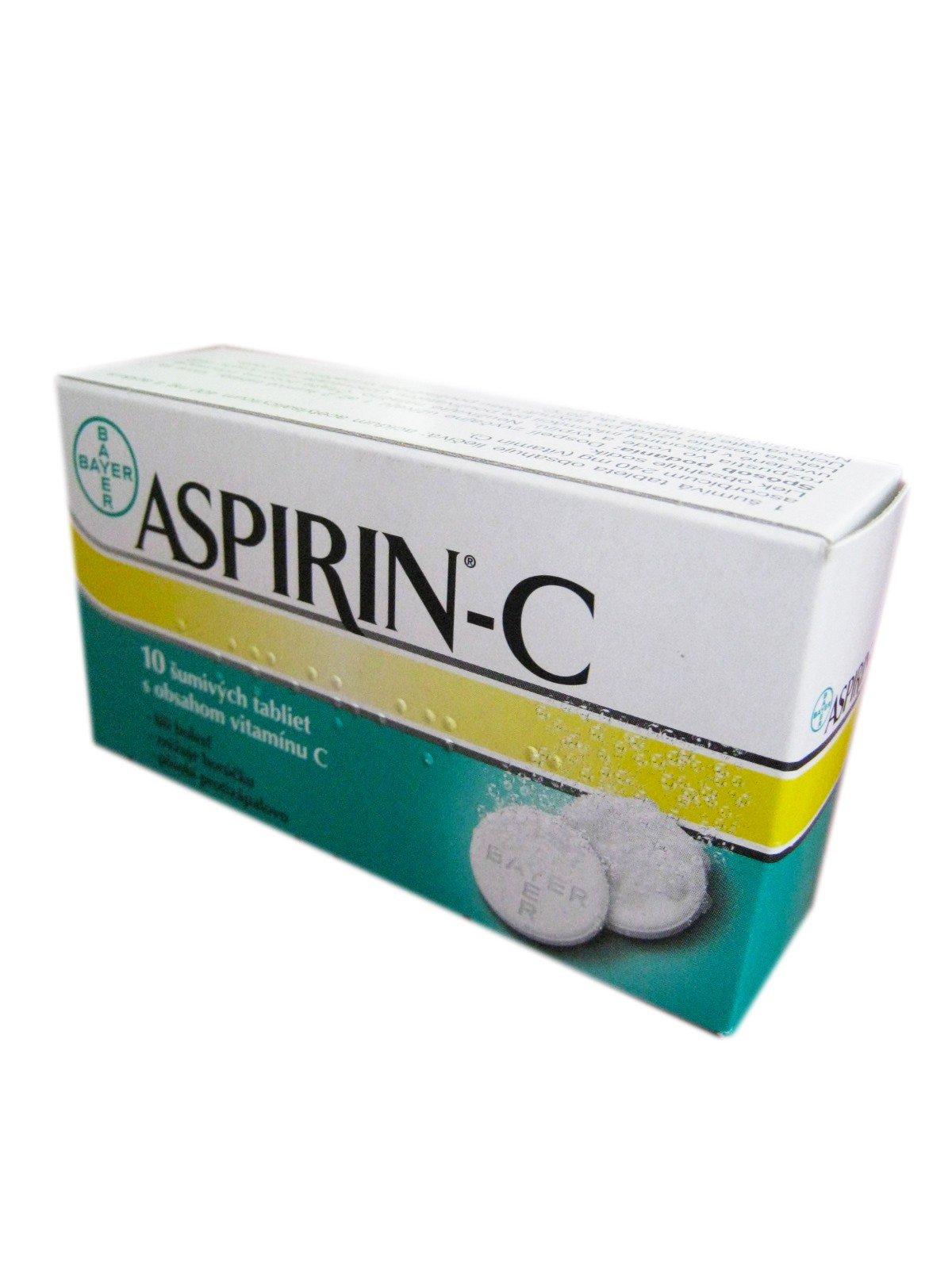 Aspirin-C eff 10tbl