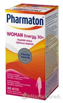 Pharmaton WOMAN Energy 30+, pre potreby ženského tela 30 tbl. - Pharmaton WOMAN Energy 30+, 30 tabliet