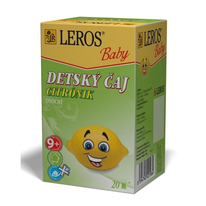 LEROS BABY CITRóNIK 20X2G