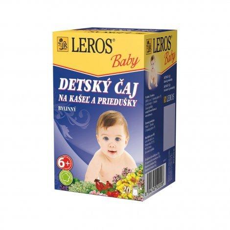 Leros Baby na kašel a priedušky 20x1,5 g