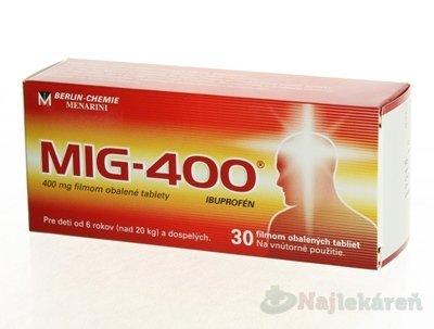 MIG 400 tbl.flm.30 x 400mg