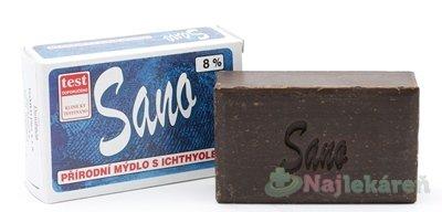 SANO - mydlo s ichtamolom 8% - Merco Sano mydlo s ichtyolem 8% 100 g