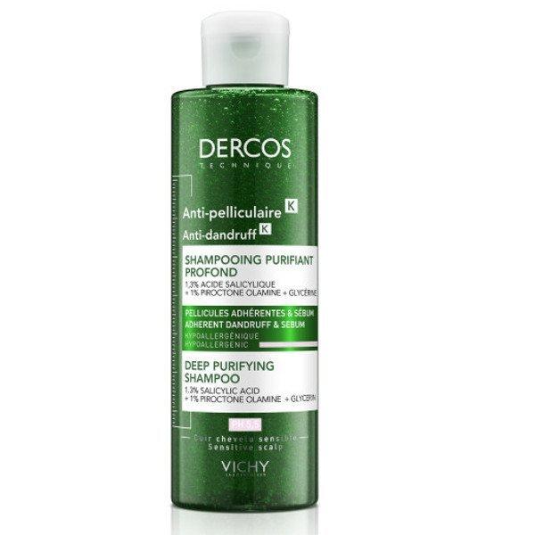 VICHY Dercos K šampón proti lupinám 250 ml