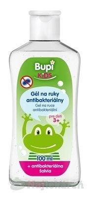 Bupi KIDS GÉL na ruky antibakteriálny - Bupi kids gél na ruky antibakteriálny so šalviou 100 ml