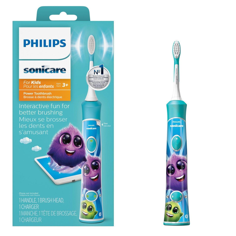 Philips Sonicare for Kids s Bluetooth - sonická kefka, modrá