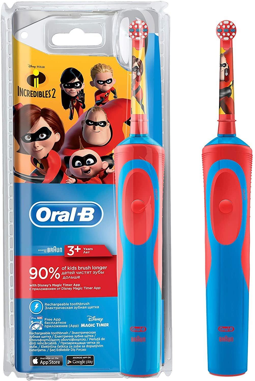 Oral-B elektrická zubná kefka pre deti Incredibles