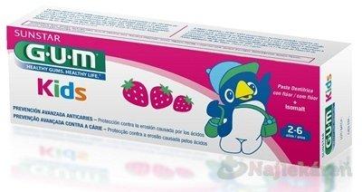 GUM zubná pasta Kids