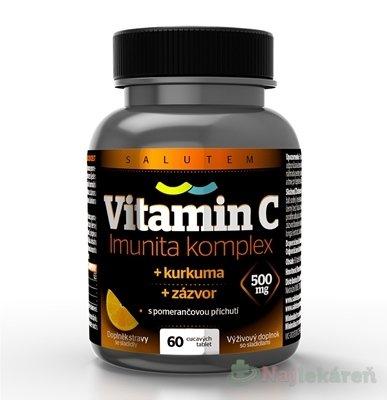 Vitamín C 500 mg Imunita komplex SALUTEM