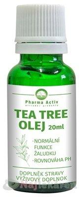 Pharma Activ TEA TREE OLEJ - Pharma Activ Tea Tree Olej 20 ml