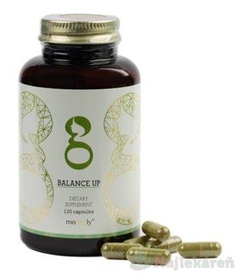moringly BALANCE UP MORINGA + Maca + Vitamin D3 - Moringly Moringa Balance Up kapsule proti rozbúreným hormónom 120 ks