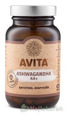 AVITA ASHWAGANDHA AA+, 60ks - Avita International Ashwagandha AA+ 60 tabliet