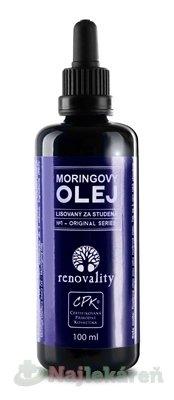 renovality MORNINGOVÝ OLEJ - Renovality moringový olej za studena lis. 100 ml